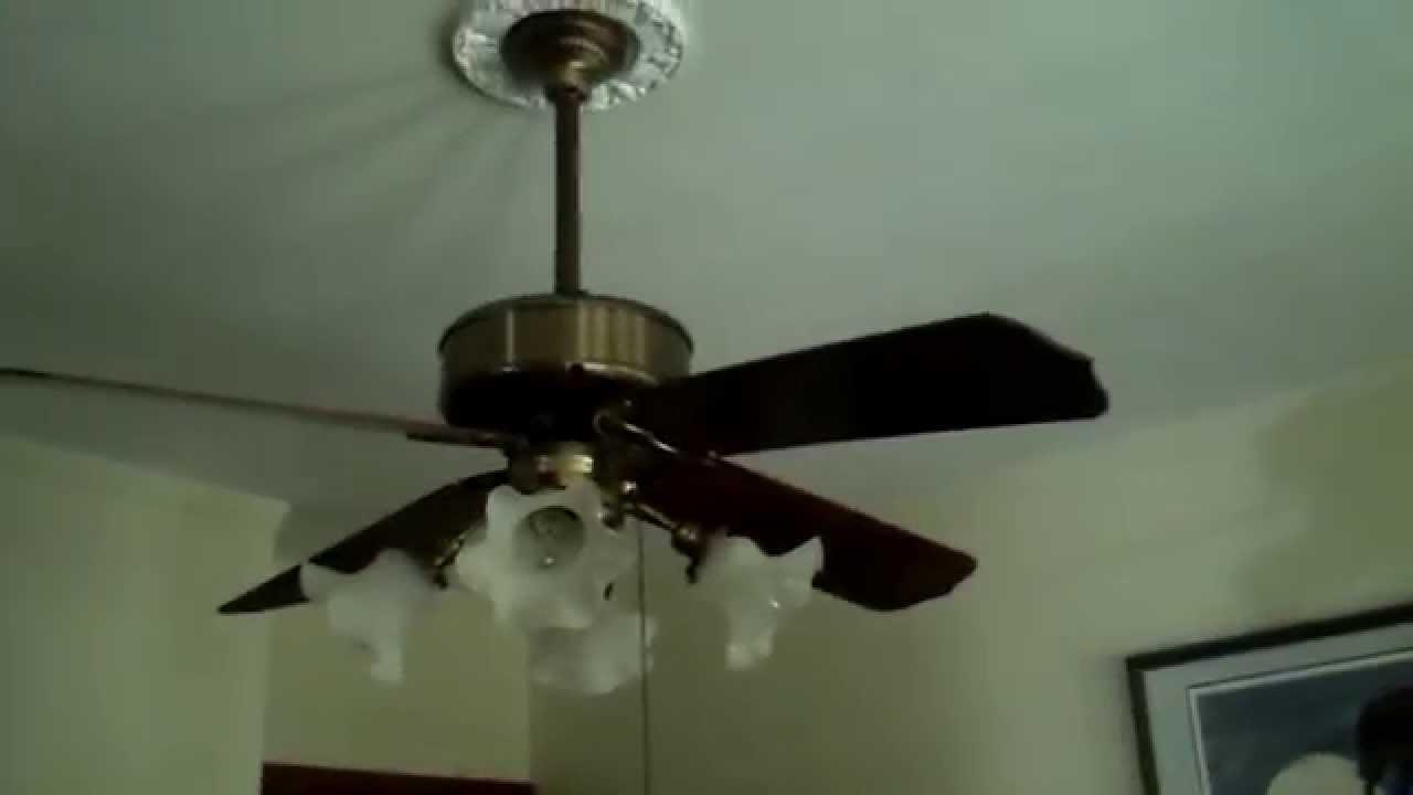 Casablanca Four Seasons Ceiling Fan in a living room
