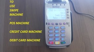 Verifone Pos Machine