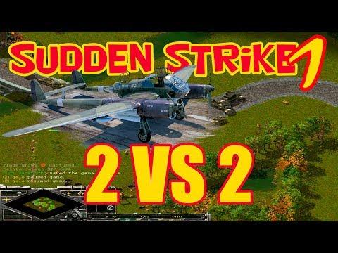 Стратегия Sudden Strike Forever [Игра для ПК Противостояние 3 Война продолжается] игра по сети 2vs2