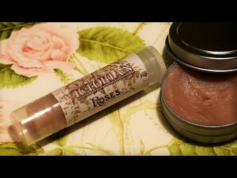 1898 Rose Salve ~ DIY Victorian Beauty Recipe
