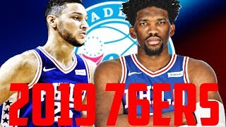 ALL 90+ OVERALL STARTING LINEUP?? 2019 76ERS REBUILD!! NBA 2K18