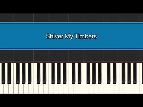 Pirates - Shiver My Timbers! Piano Play Along!
