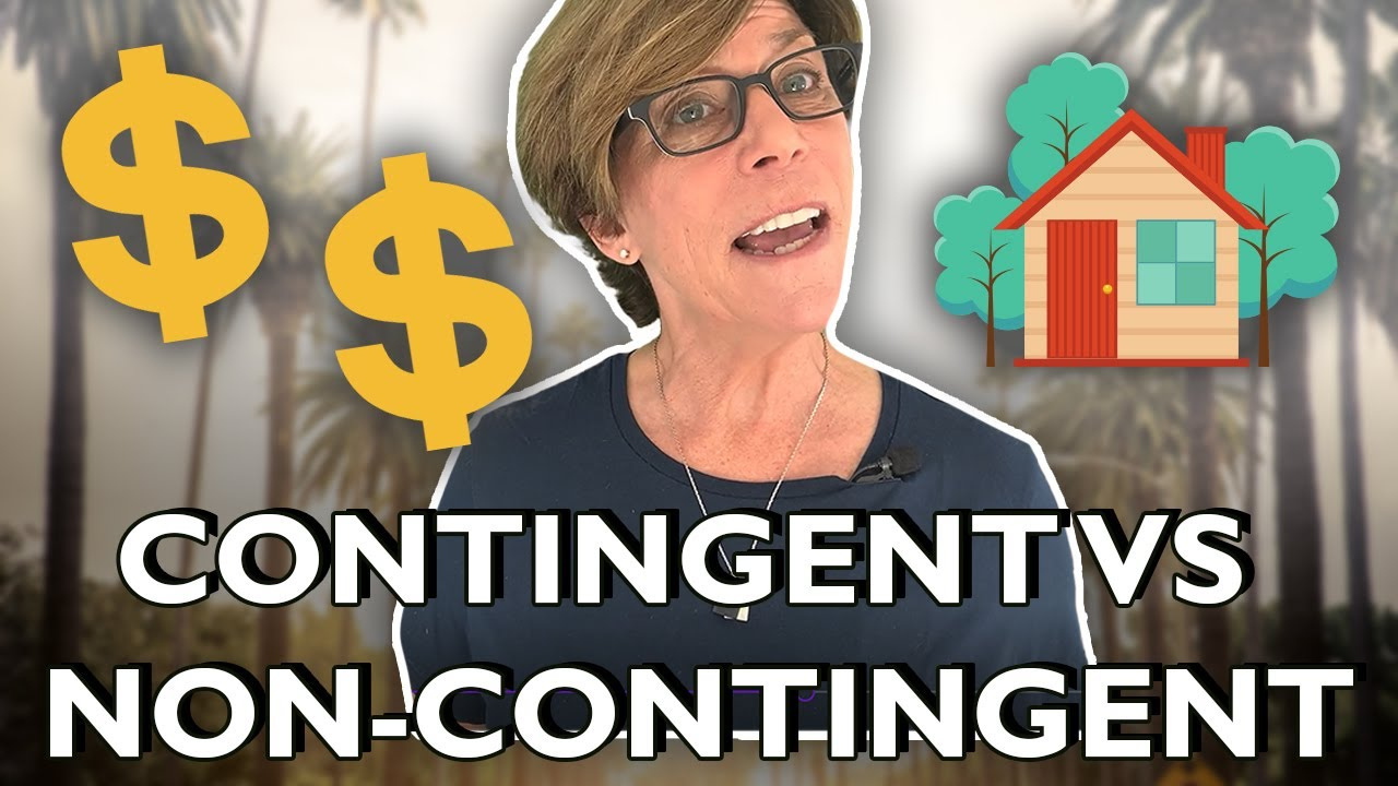 Real Estate Tips | Contingent VS Non Contingent Explained!