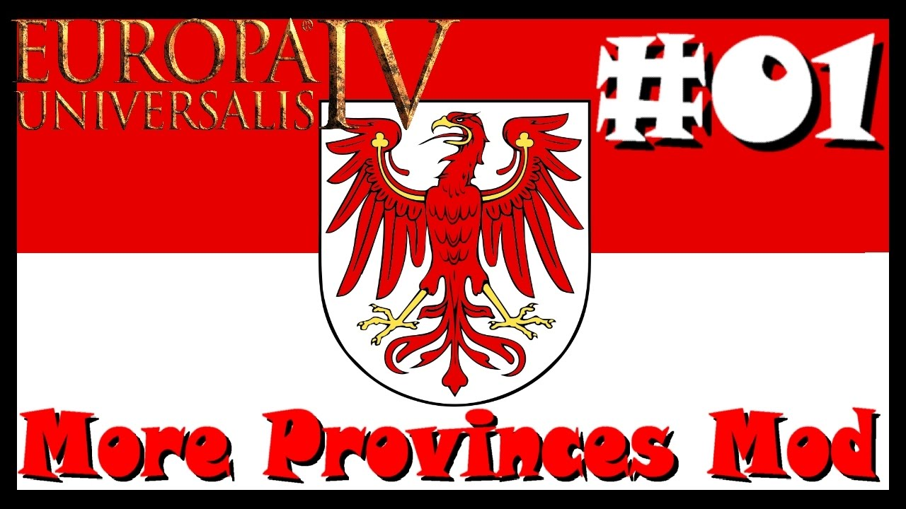 Europa Universalis IV - More Provinces Mod: Brandenburg | Centre of Trade  Galore!! | Part 1
