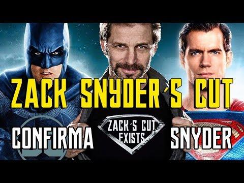 JUSTICE LEAGUE SNYDER´S CUT - NOTICIAS LIGA DE LA JUSTICIA - ZACK SNYDER - SUPERMAN - BATMAN