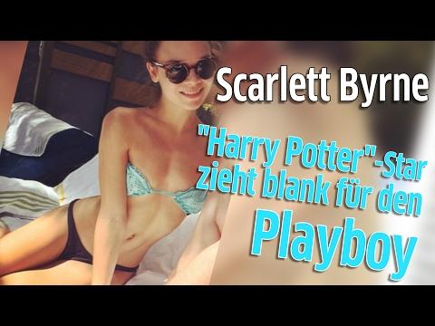 Playboy: Harry Potter-Star Scarlett Byrne alias Pansy Parkinson