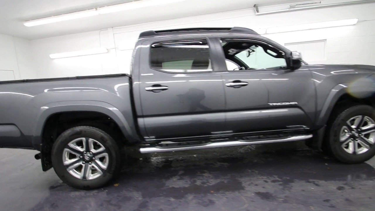 2016 Toyota Tacoma Limited V6 Silver Sky Metallic Gm005982 Seattle Burien On