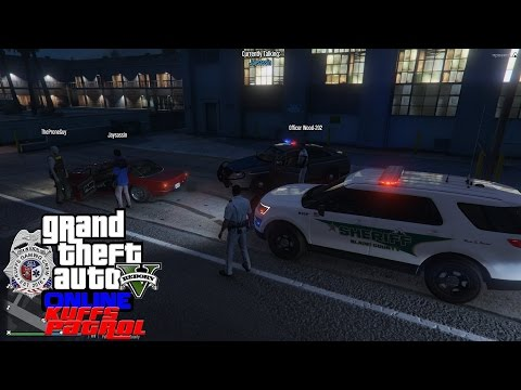 GTA 5 KUFFS Police Patrol #23 | State Trooper & Blaine County Sheriff Action In Paleto Bay Part 1
