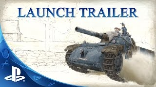 Valkyria Chronicles Remastered - Launch Trailer | PS4