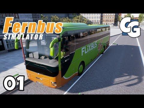 Fernbus Coach Simulator - Ep. 1 - Frankfurt Airport - Fernbus Simulator Gameplay