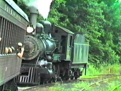 Home video 1983 Mid-Continent Railway Museum North Freedom, Wisconsin