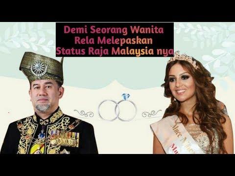 Setelah Nikahi Ratu Kecantikan Rusia, Raja Malaysia Putuskan Turun Tahta.