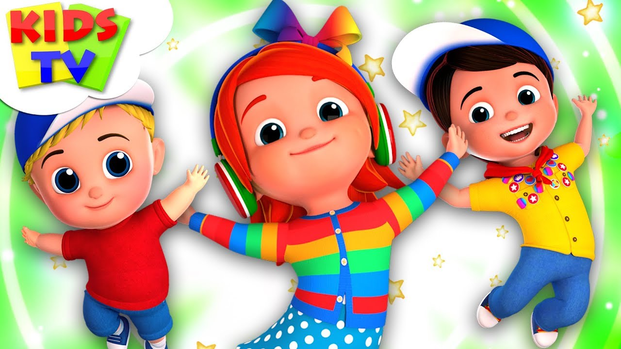 Popular Songs And Nursery Rhymes For Children   Junior Squad Cartoons - Kids Tv