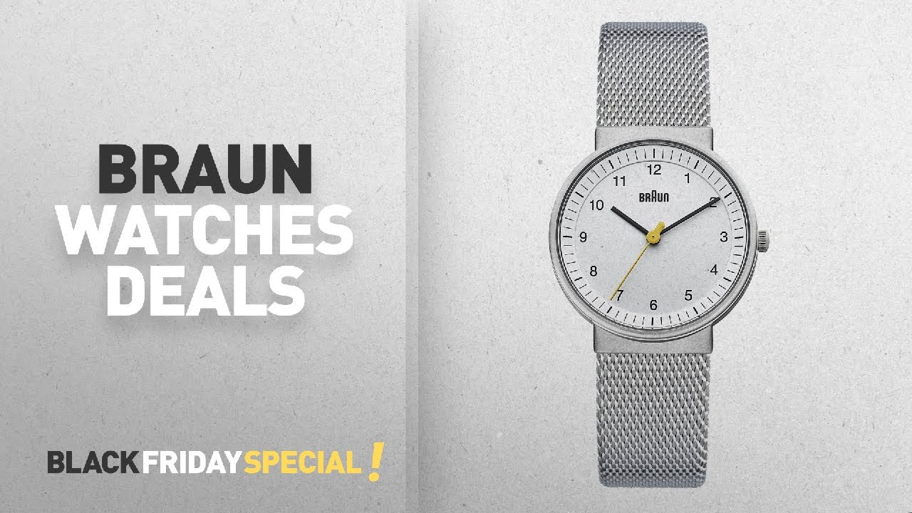 23d8cc1ef9 Black Friday Watches Deals: Up To 50% Off Braun Watches | Amazon UK ...