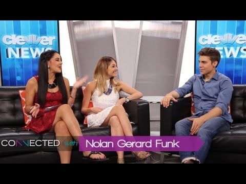 Nolan Gerard Funk Interview -- Lindsay Lohan, The Canyons, and Glee!