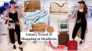Luxury Travel: How To Plan Your Airport Shopping & Save A Lot on Chanel, Cartier, Dior & more 💸
