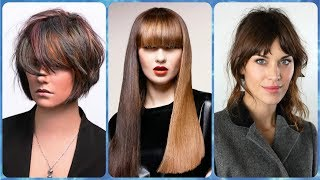 Top 20 modne 🌸 fryzury damskie z wysokim czolem 2019