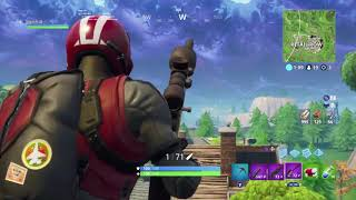 Fortnite New Wingman Skin Solo Win With Crazy Ending