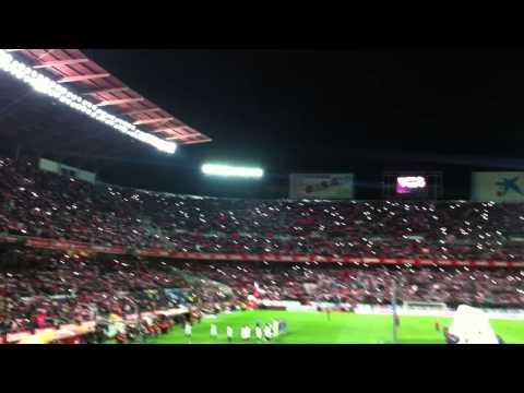 Himno Sevilla FC 29/1/2015 CUARTOS DE FINAL COPA DEL REY SevillaFC-Espanyol