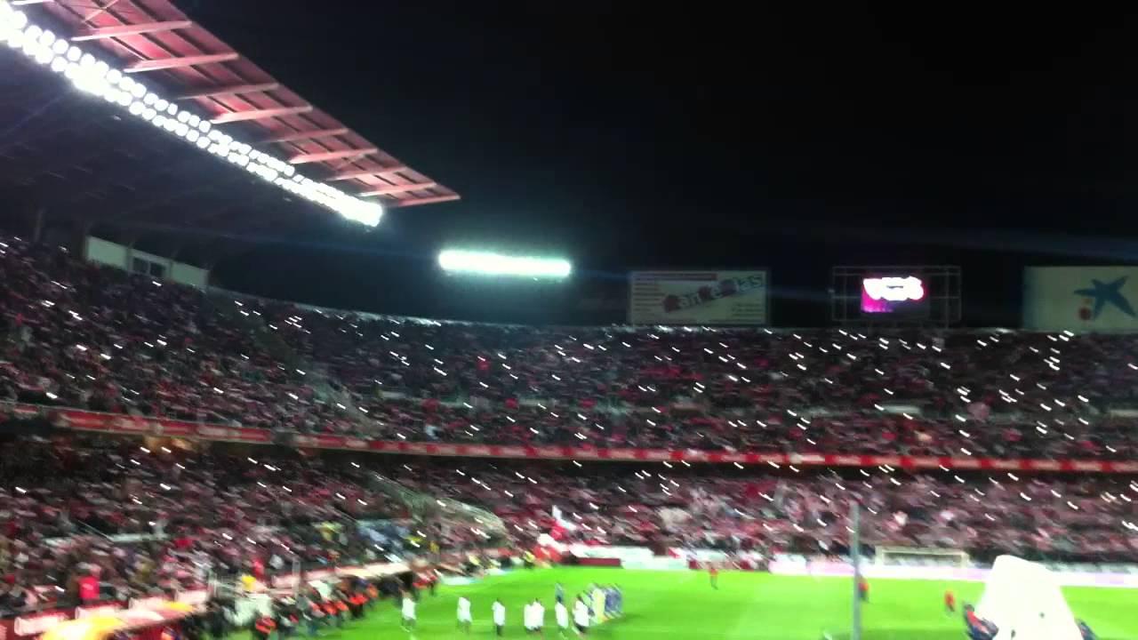 Himno Sevilla FC 29/1/2015 CUARTOS DE FINAL COPA DEL REY SevillaFC ...