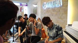 Cruise Tan Music Sharing at Yamaha Batu Pahat, Johor, Malaysia Recording Singing Performance 06