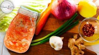 How to Make Homemade Kimchi | Ferment Food EASY RECIPE