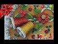 Campanas Navideñas de vasos/Flores Navideñas con tapas y botella plástica