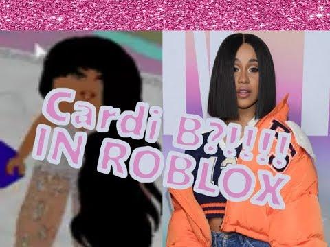 I Found Cardi B In Roblox Youtube