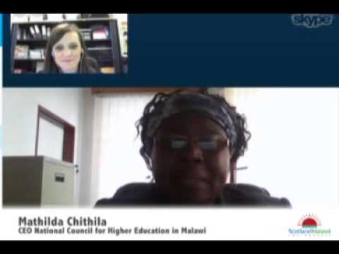 Interview with Mathildah Chithila, CEO of the National Council for Higher Education in Malawi