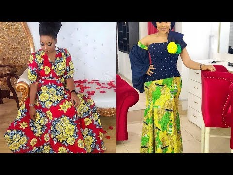 140d8b99394 African Attire Dresses for Young Ladies   Ankara Styles - YouTube
