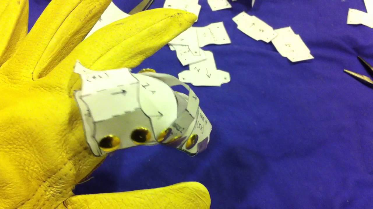infinity gauntlet paper prototype 1 youtube