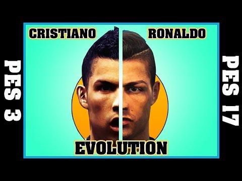 CRISTIANO RONALDO evolution [PES 3 - PES 2017] ⚽