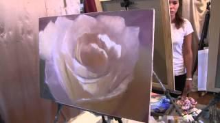 Пион. Игорь Сахаров.Урок живописи.