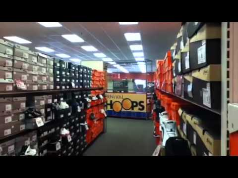 9620dfc5aef840 Shopping and Basketball at Shoe Carnival - YouTube