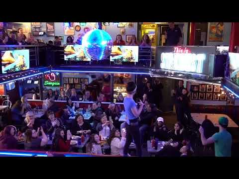 Singing Servers at Ellen's Stardust Diner in Times Square, NYC