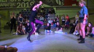 Ghetto Blaster 2013 | dancehall battle | Anastacia IceCreanCrew vs Maracuja IceCreamCrew Thumbnail