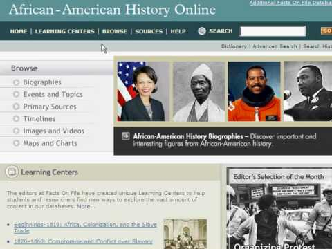 African-American History Online