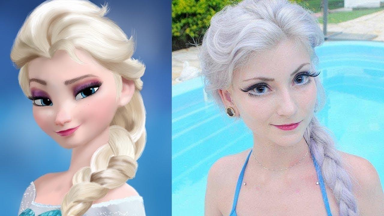 Download 30 Personnages qui EXISTENT VRAIMENT ! Princesse elsa reine des neiges