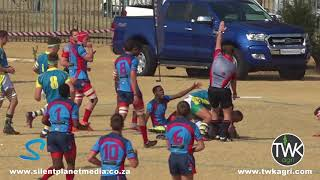 School Rugby Action - 1st Secunda vs Ligbron 21-07-18