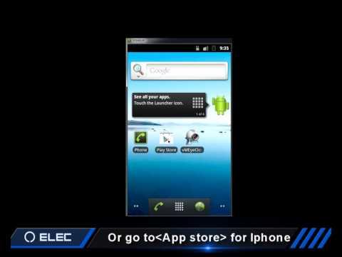 ELEC CCTV DVR  e Cloud Cellphone
