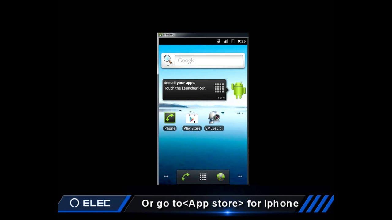 ELEC CCTV DVR e Cloud Cellphone - YouTube