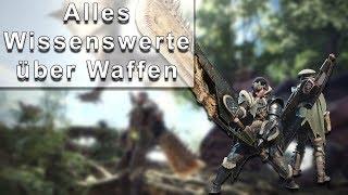 Monster Hunter World Guide - Affinität, Elemente, Schaden & alles Wissenswerte über Waffen