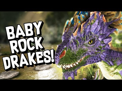 ARK Survival Evolved Ep #21 - HATCHING OUR FIRST ROCK DRAKE! (Aberration DLC)