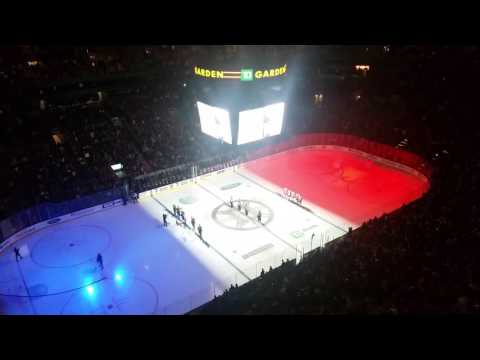 French National Anthem at TD Garden