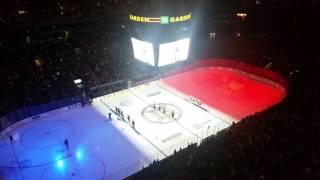 French National Anthem at TD Garden