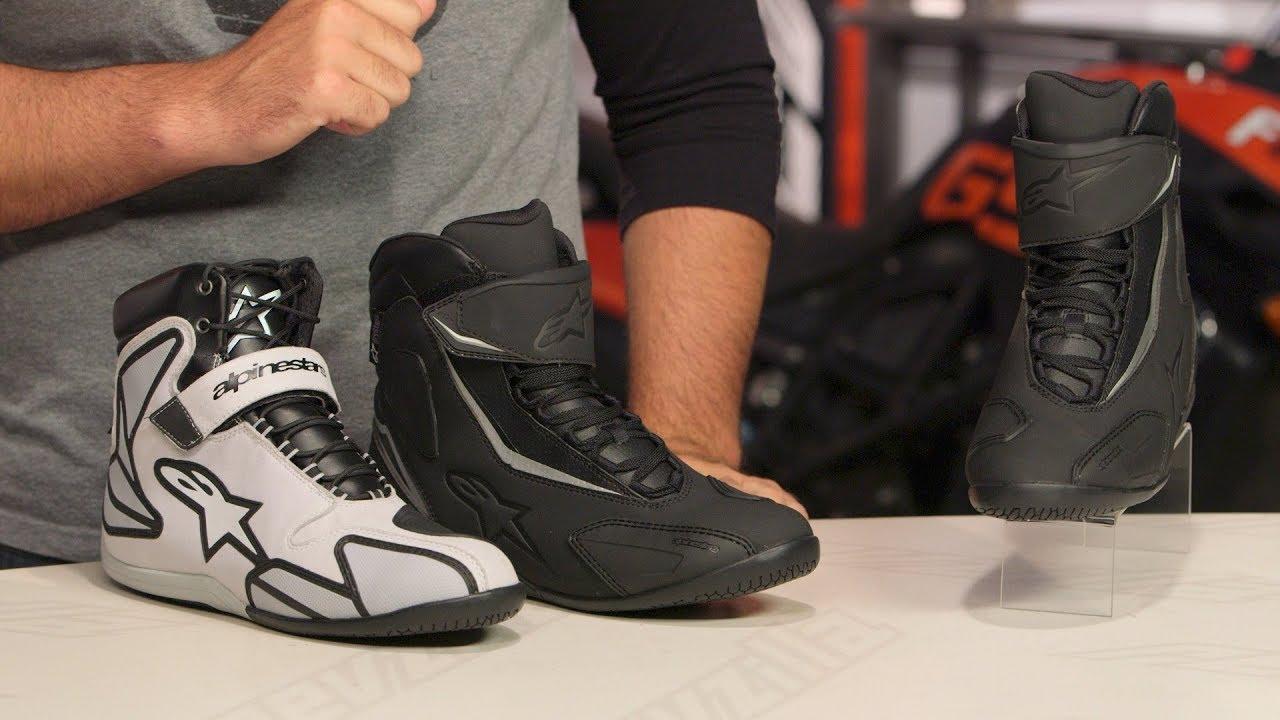 f510b2d18f1 Alpinestars Fastback v2 Drystar Shoes Review at RevZilla.com - YouTube