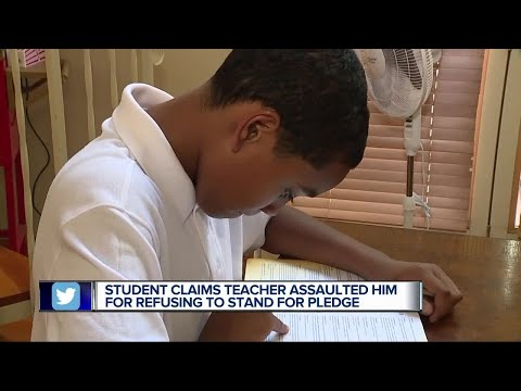 Metro Detroit father says son assaulted for sitting during pledge