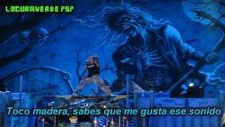 Iron Maiden- Hooks In You- (Subtitulado en Español)
