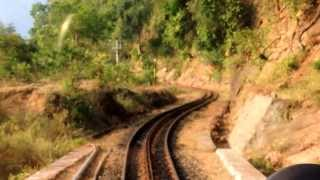 Nilgiri Mountain Railway: View from the front seat!