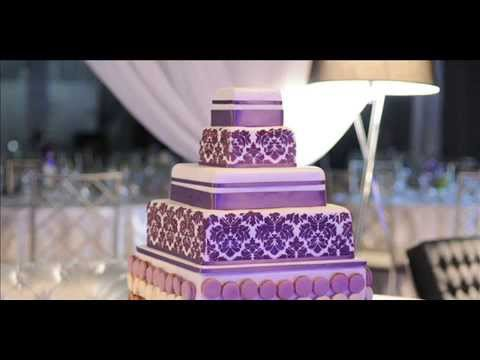 Diy Wedding Cake Purple Ideas For Lovers Youtube